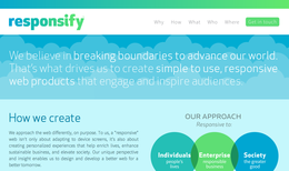 Responsify.com: creating a better web for a better tomorrow